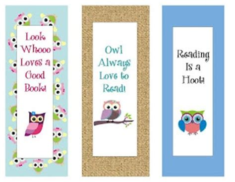 printable owl bookmarks 7 best images of owl bookmark printable owl bookmarks to