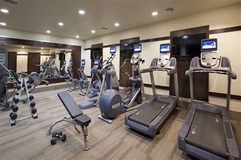 the carlyle fitness center style interior design