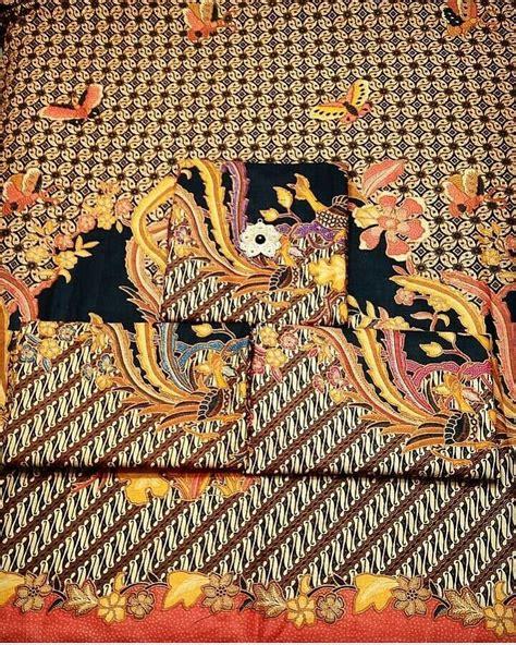 1 Set Kain Batik Print Prada Dan Embos 2 batik pekalongan by jesko batik kain batik pekalongan