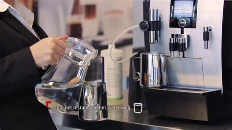 jura koffiemachine reinigen instructiefilm melk reinigen jura professiona xj9
