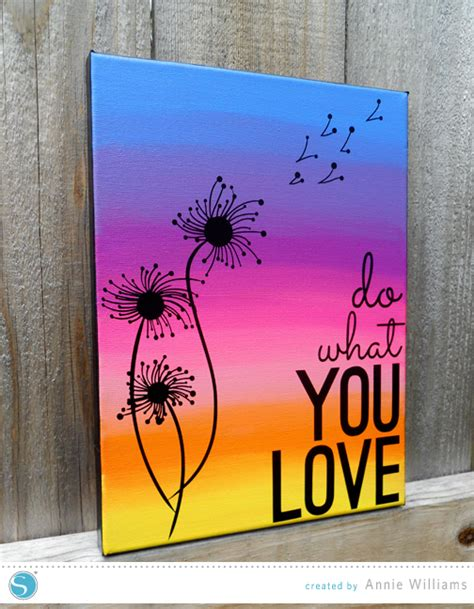 can you paint acrylic on canvas add color to your home with 15 beautiful canvas painting