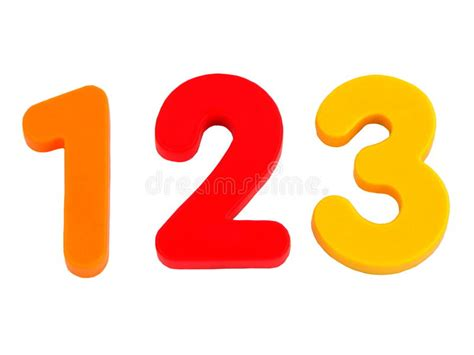 2 1 2 by 3 1 2 card template isolated numbers 1 2 3 stock photo image of educate