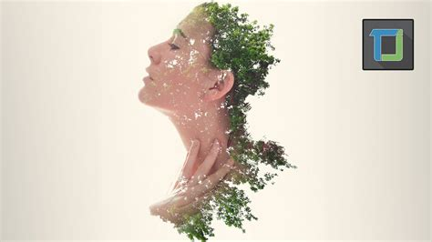 tutorial double exposure menggunakan photoshop double exposure effect photoshop tutorial youtube