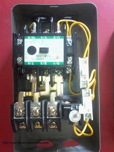 how to wire contactor and relay contactor