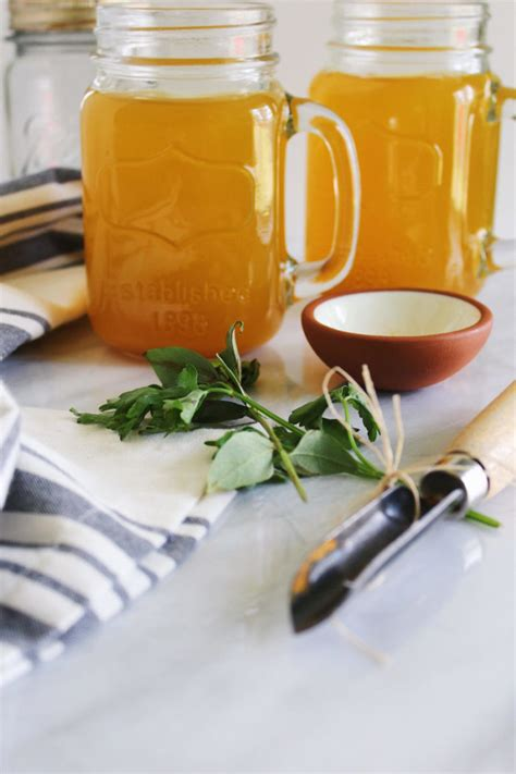 Detox Vegetable Stock by Detox Vegetable Broth With Turmeric And Parsnips