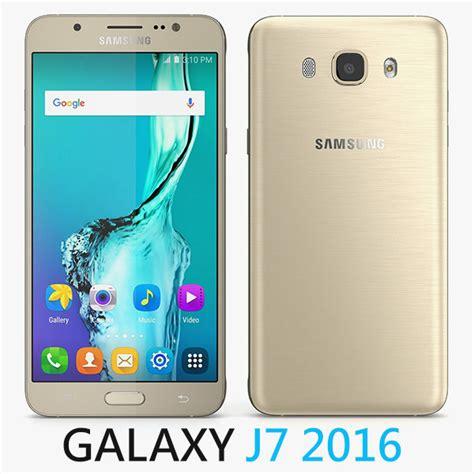 3d Samsung J7 2016 by 3d Model Of Samsung Galaxy J7 2016