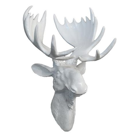 three hands home decor three hands moose head wall decor 25923 the home depot