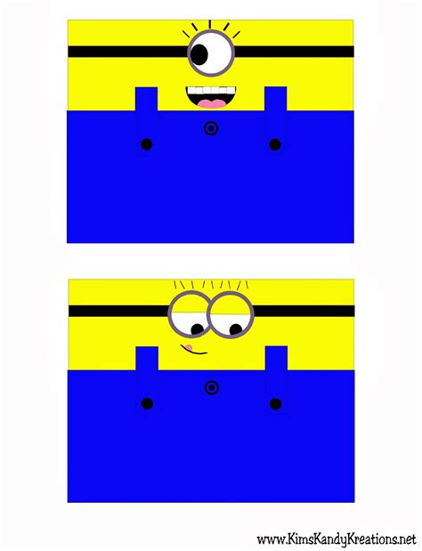 printable minion templates printable despicable minion toilet paper craft for my