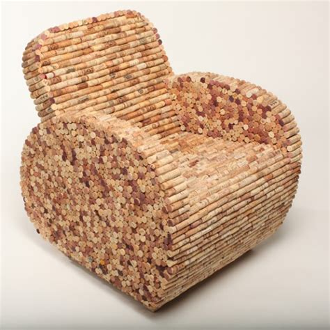 Cork Chair by 20 Imaginative Exles Of Recycled