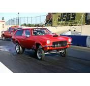 1971 CHEVY VEGA WAGON GASSER DRAG RACING For