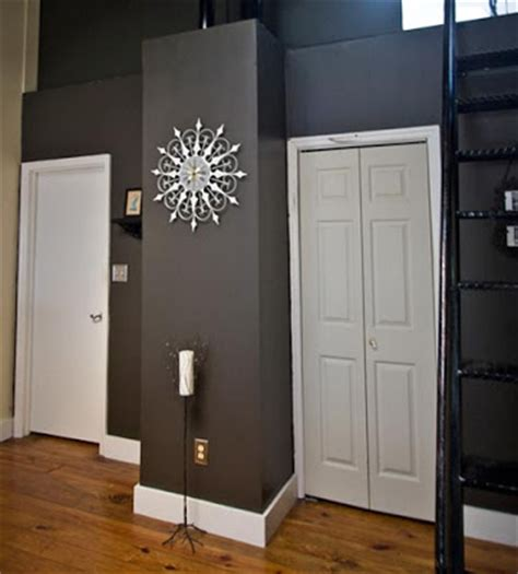 Dark Gray Wall Paint | black kat s design picking the perfect trim color