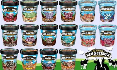 What Is Your Favorite Flavor Of Ben Jerrys by Vermont In The Fall Thinglink