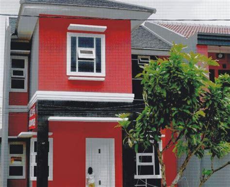 C Cat Merah perpaduan warna merah dan kuning desain minimalis