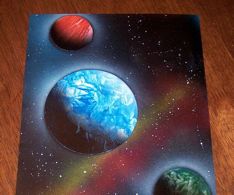 How To Make Paper Spray - spray paint all
