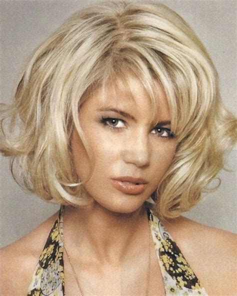 shoulderlength volume haircut hairstyles with volume short hairstyles with volume on