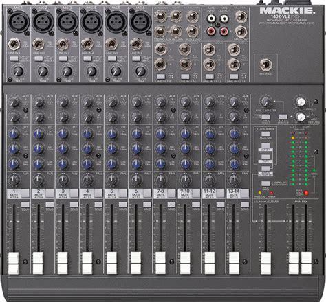 Mixer Mackie 6 Channel mackie 1402 vlz pro 6 channel mixer gear to go rentals llc