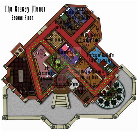 haunted house floor plan haunted mansion second floor plan by shadowdion on deviantart