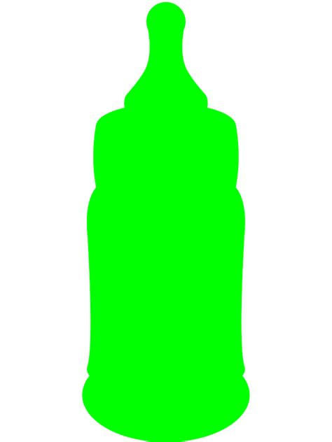 lime silhouette baby bottle silhouette free vector silhouettes