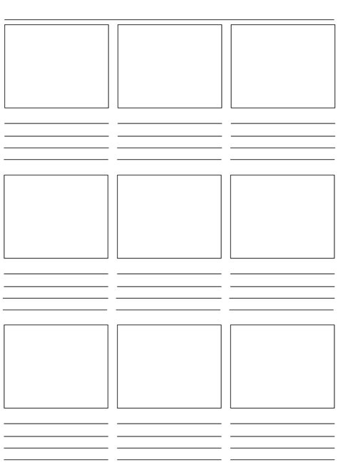 storyboard templates for pages storyboard template c puppets pinterest