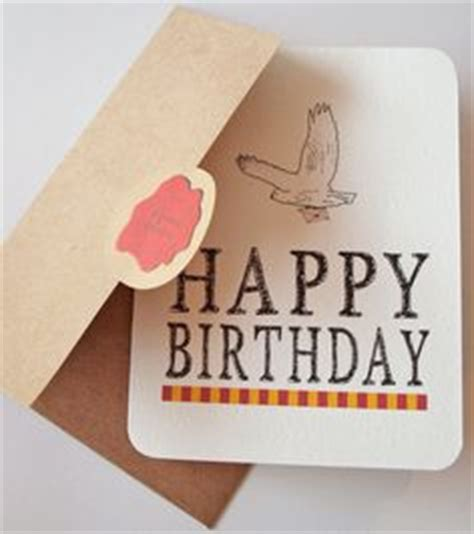 Harry Potter Themed Birthday Cards Harry Potter Inspired Birthday Card Fan In Your Life