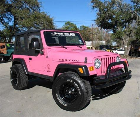 Girly Jeep Pink Rubicon Like It Pink