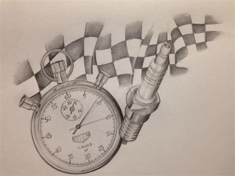 racing flag tattoo designs racing flag drawing timer my drawings