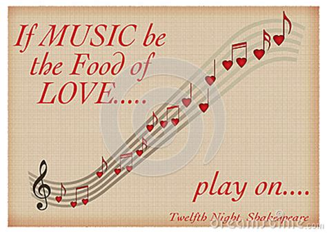 play the valentines song if be the food of play on shakespeare
