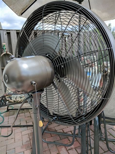 cooling mist fan outdoor stay cool outdoors with the newair outdoor misting fan
