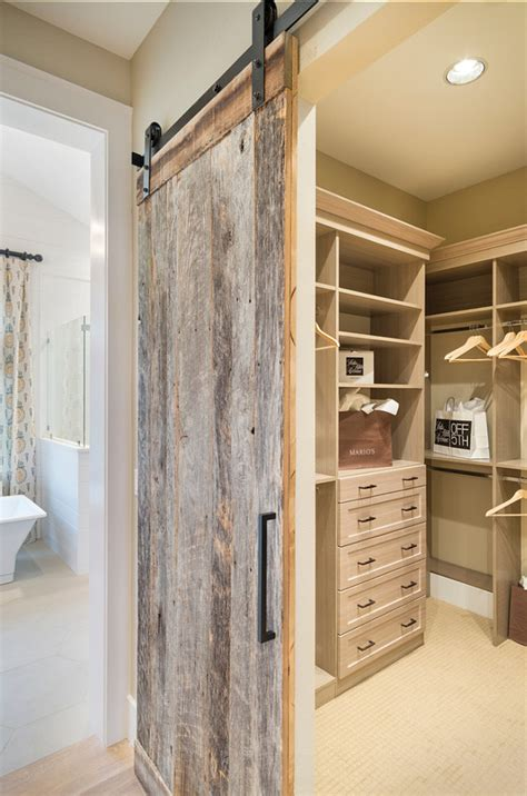 Rustic Closet Doors Sliding Barn Door Designs Mountainmodernlife