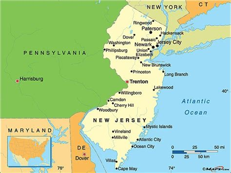 map of new jersey and new york new york new jersey map of pa pictures to pin on