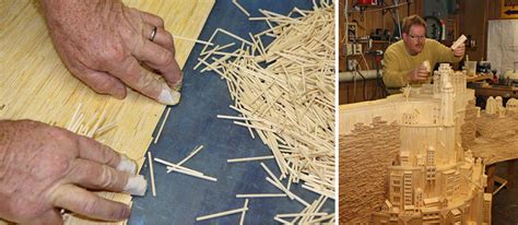 Most Popular House Plans 3 years and 420 000 matchsticks this is what it took to