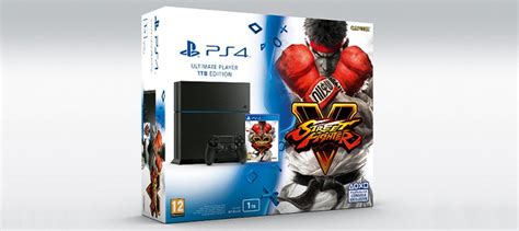 Bd Ps4 Fighter5 Spesial Shoryuken Edition europe gets its own fighter v playstation 4 bundle