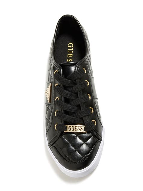 womens guess sneakers guess s brooklee quilted sneakers