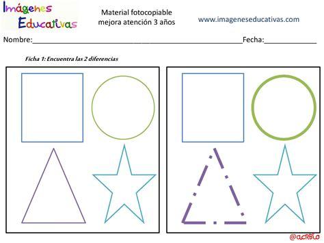 imagenes percepcion visual para niños actividades para mejorar la atenci 243 n 3 a 241 os p 225 gina 02