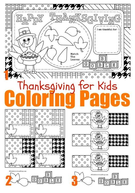 coloring pages of thanksgiving things coloring thanksgiving and place mats on pinterest