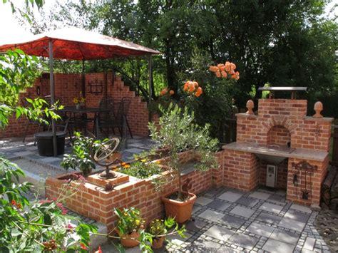 Grillplatz Garten Ideen