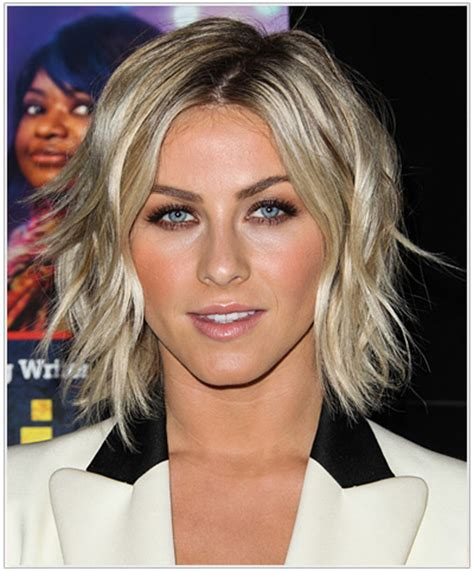 how to get julianne houghs curly bob julianne hough s perfect messy bob thehairstyler com