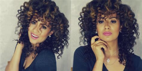 how to get small curls without perming how to get flawless spiral curls with curling wand curling