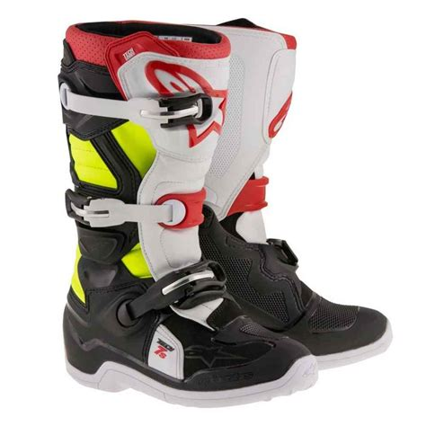 youth motocross racing alpinestars racing tech 7s youth road dirt bike