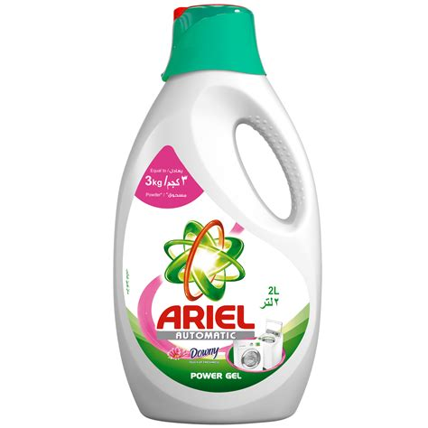 downy laundry ariel automatic power gel with a touch of downy