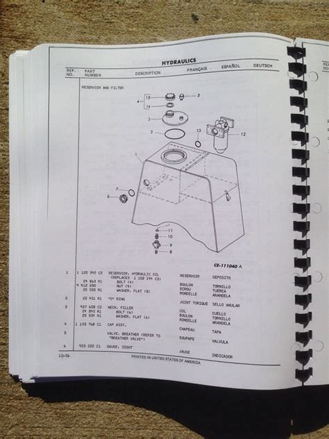 Dresser Parts by Dresser 510 515 Wheel Loader Parts Manual Catalog Book Pc