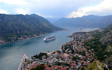 fjord bay bay of kotor fjord in montenegro thousand wonders