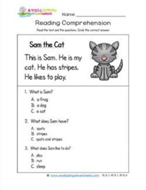 K5 Learning Reading Worksheets by Reading Worksheets Kindergarten 1000 Images About