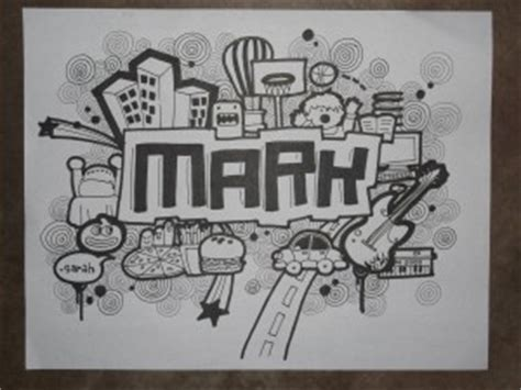 doodle yang mudah dan simple contoh doodle nama simple sederhana yang mudah