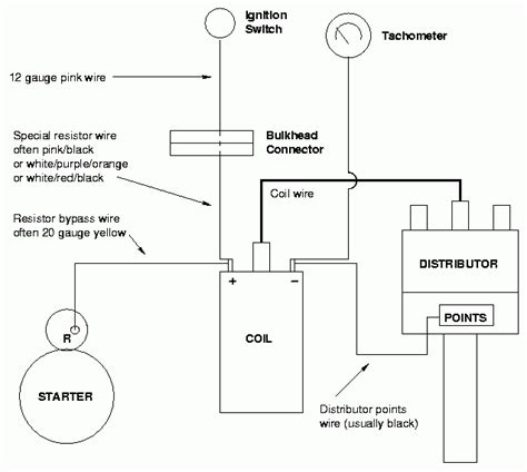 pro comp distributor wiring diagram wiring diagram and