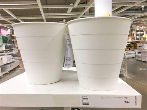 diy  trash    large flower pot planter