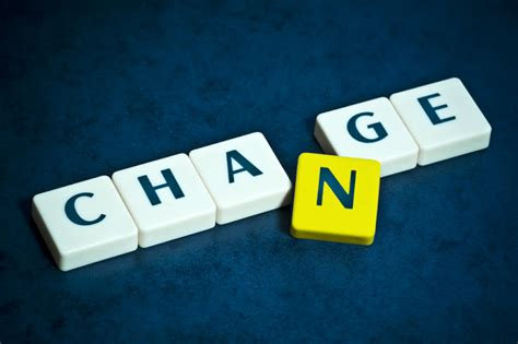 my change is a part of growth