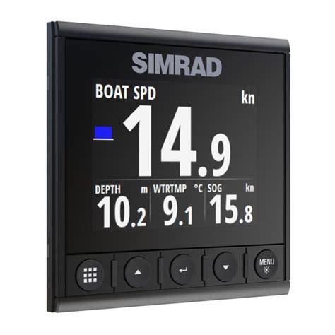digital display instrument displays simrad is42 digital display