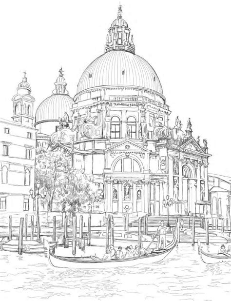 coloring pages for adults buildings 1000 ideas about coloring books on