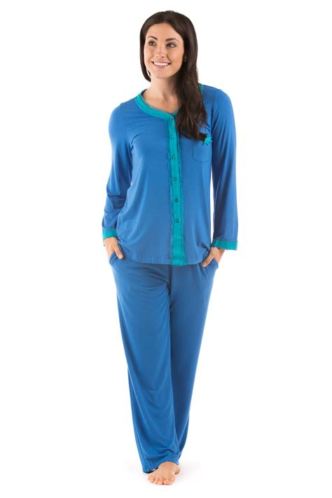 most comfortable pajamas for women eco nirvana women s comfortable bamboo viscose pajamas by